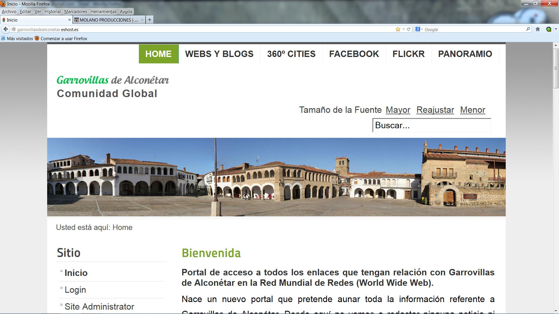 Garrovillasdealconétar.net